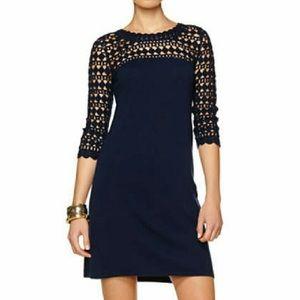 Lilly Pulitzer | Black Kariana Wool Sweater Dress